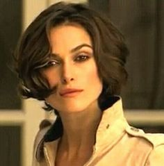 Keira knightly short hair bob coco