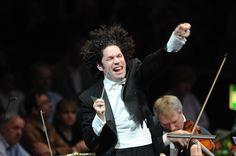 Gustavo Dudamel, Venezuelan conductor and violinist