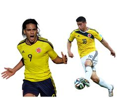 Radamel Falcao  and James Rodríguez are the key player for Colombia in Copa America 2015