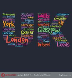 Anglotees UK Cities