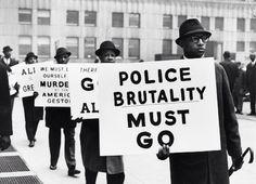 Gordon Parks - Black Muslim Protest, 1963 (via)