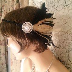 Items similar to Gatsby headpiece Gatsby headband Gatsby jewelry silver pear flapper headband headpiece roaring on Etsy Gatsby Headpiece, Flapper Headband, Silver Jewelry, Unique Jewelry, Trending Outfits, Earrings, Vintage, Etsy, Fashion