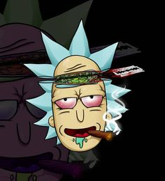 Weed Wallpaper Iphone Rick And Morty Rick And Morty Pinterest Cannabis