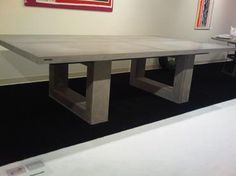 Nice concrete table