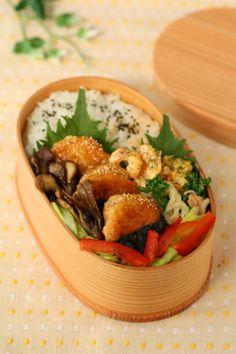 豆腐とささみで作る、照り焼きチキンナゲット弁当 : Linmal's Kitchen ~金沢の旬の味と毎日のお弁当