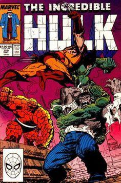 Incredible Hulk 359 A, Sep 1989 Comic Book by Marvel Hulk Marvel, Marvel Comics Superheroes, Hulk Comic, Marvel Comic Books, Comic Book Characters, Comic Book Heroes, Marvel Characters, Comic Books Art, Comic Art