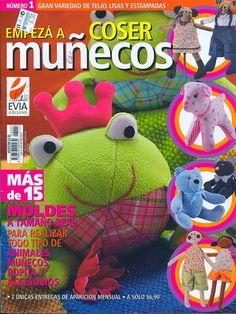 Revistas de manualidades Gratis: Revista Como hacer muñecos