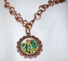 Absinthe Fairy Necklace by RavensCrafts on Etsy, $16.00