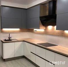 Ikea Kitchen Design, Best Kitchen Designs, Modern Kitchen Design, Home Decor Kitchen, Interior Design Kitchen, Pantry Design, Kitchen Cabinet Design, White Wood Kitchens, Washbasin Design
