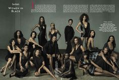30 Years of Black Beauty by Anne Leibovitz for Vanity Fair