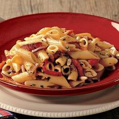 Recipe for Penne With Roasted Peppers : La Cucina Italiana