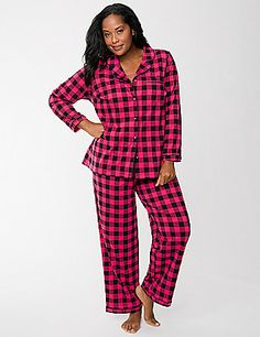 4c82cff14fc0b See more. Our cozy 2-piece PJ set is a seasonal favorite in a timeless  checkered print. Plus Size ...