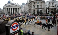 Troops Taking Part in Lord Mayor's Show in London 2010 by Defence Images, via Flickr