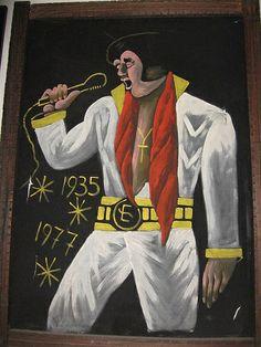 Maybe The Worst Velvet Elvis Ever | Flickr - Photo Sharing!