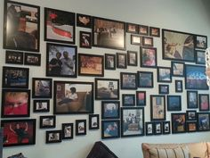Our infamous picture wall everyone takes. This wall was once displayed in Dallas Galleria and now in Stonebriar.