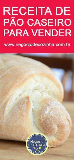 Aprenda uma deliciosa receita de pão caseiro e comece a ganhar dinheiro sem sair de casa! Dá para ganhar até mais de R$5 MIL por mês com esse negócio - em casa! Conheça e comece a ganhar dinheiro! #receita #pão #pãocaseiro #pãoartesanal #comida #comidasaudável #pãozinho #façaevenda #façavocêmesmo #negóciodecozinha #empreendedorismo #cozinha #cozinhalucrativa Bread Recipes, Dog Food Recipes, Cake Recipes, Brazilian Cheese Bread, Bread Cake, Portuguese Recipes, Homemade Dog Food, Sweet Bread, My Favorite Food