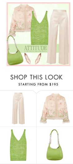 """""""attitude quote"""" by bodangela ❤ liked on Polyvore featuring WALL, The Row, Alexander McQueen, Missoni, Prada and Nicholas Kirkwood"""