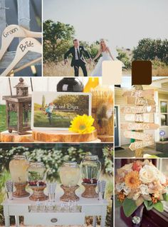 Rustic wedding ideas | Rustic Save the Date