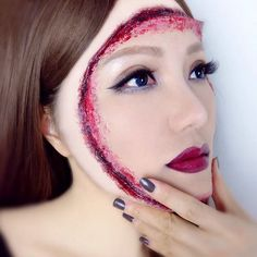 Username: @jojosbeautyworkshop Number of followers: 98 Known for: Dramatic effects makeup with a boost of g...