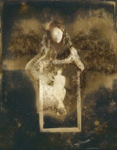 Lisa Folino ph. - Drawing on the Past. Hand Manipulated Polaroid