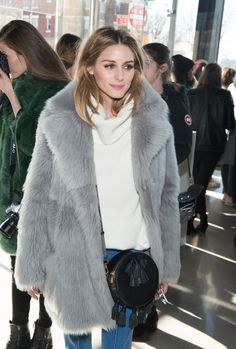 Olivia Palermo - Tibi Fall 2016 Front Row - February 13, 2016 #nyfw