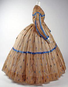 Dress, Morning    Date:      1860–65