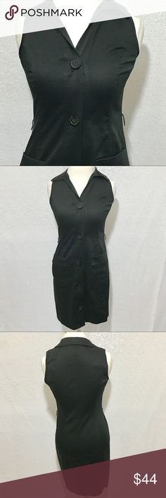 "Michael Kors black dress size small Great casual look. Button down dress. Hip pockets. Shoulder measures approximately 12"". Colors may vary slightly to lighting and photos. No holes, rips or stains. Measurements approximately as shown. ❌Smoke and pet free home. ⚡️Same/next day shipping. 💲Save by bundling or make a reasonable offer through the offer button. 🚫No holds, trades or modeling. 📦Wrapped and shipped with care. MICHAEL Michael Kors Dresses"