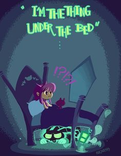 The Thing Under Bed by inkinesss on DeviantArt
