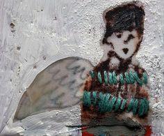 miniature school boy painting by mummysam, via Flickr