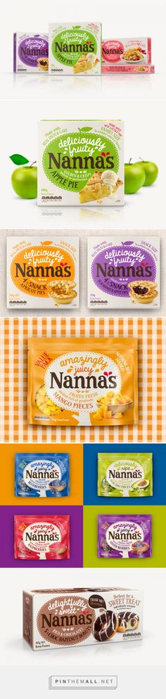 Nanna's on Packaging of the World - Creative Package Design Gallery... - a grouped images picture - Pin Them All