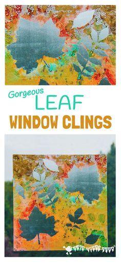 FALL LEAF ART - Make