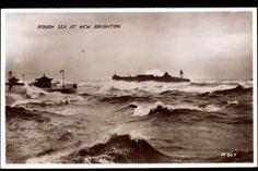 Ak-New-Brighton-Wallasey-North-West-England-Rough-Sea