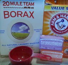 Homemade Cloth Diaper Detergent Ingredients