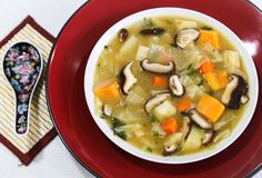 Miso Soup with Winter Vegetables for these cold and dreary days!