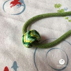 """It's a Japanese public holiday """"Green Day"""" today! You'll find this necklace from 29th May at our Etsy store. Link in bio.   #green #yubinuki #japan #japanesefashion #needlework #japanesesilk #japanesecraft #kaga #madeinjapan #madebyjapanesecraftsman #japanesegift #etsy #etsyjapan #kinukajapan #etsymagazine"""