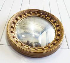 Round-Gold-Porthole-Convex-Mirror-antique-vintage