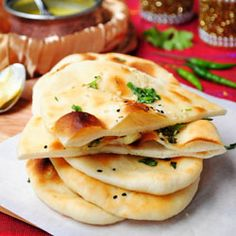 Soft, pillowy, crispy and perfect. Homemade Garlic butter Naan!