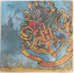 Harry Potter and the Deathly Hallows – lunch napkins (16 ct) Find more at www.ipartybox.com