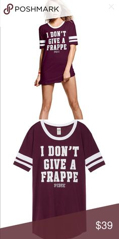 Large PINK Sleep Shirt NWT PINK Victoria's Secret Intimates & Sleepwear Chemises & Slips
