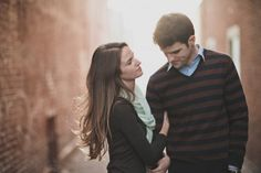 Casual fall outfits for engagement session
