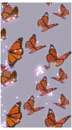 laptop wallpaper butterfly aesthetic