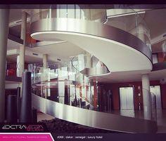 """Mi piace"": 16, commenti: 2 - Extravega Milan NewYork Sydney (@extravega) su Instagram: ""#customspiralstaircase #architecturalfabrications #extravega #dakararchitecture"""