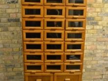 Large 28 Drawer Display Cabinet at D and A Binders I We have two gorgeous vintage oak display cabinets, with a huge amount of storage, in excellent condition. Ideal to display materials/fabrics or clothes!  #Display #DisplayFurniture #Displays #DisplayPiece #OakFurniture #Oak #Wood #Displaycabinet #InteriorDesign #InteriorDesigner #Interiors #Interior #InteriorFurnishing #DandABinder #Large