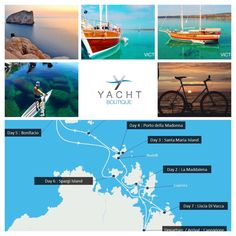 Italy Yacht charter Island Hopping adventure holidays with bike, boat, bucket list www.yachtboutique.eu yachtboutique@outlook.com
