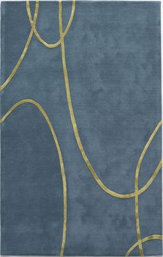 Millennium Electric Blue Rug from the Modern Rug Masters 7 collection at Modern Area Rugs