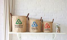 3pcs Eco friendly storage baskets, PE water proof storage buckets, Recycling storage box, Folding socks clothes shoes storage baskets on Etsy, $34.02 CAD