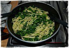 Ricetta della Roma di una volta proposta da Marcello Grassi.. Spaghetti con broccoletti Romani con il nostro olio Brematurato e accompagnati dal nostro Antani.
