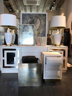 We have received lots of new and exciting pieces this week, including this beautiful white sideboard from our Henryk range. All on display at @birgitisrael showroom