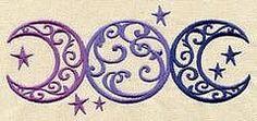 wiccan alphabet | Triple Moon | Wiccan symbols