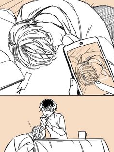 Arima and Haise Tokyo Ghoul:re  credits to the artist!